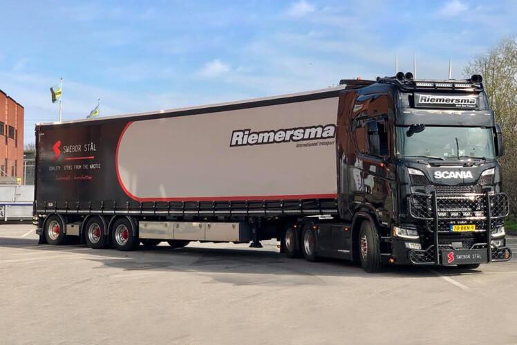 ミニチュア模型ミニカー 予約 2020年1-3月以降発売予定Riemersma SCANIA S HIGHLINE CS20H 実物 6X2 TAG軸 BOX 建設機械模型 トラック トレーラー ミニチュア WSI 1 3軸 50 工事車両 TRAILER 限定特価
