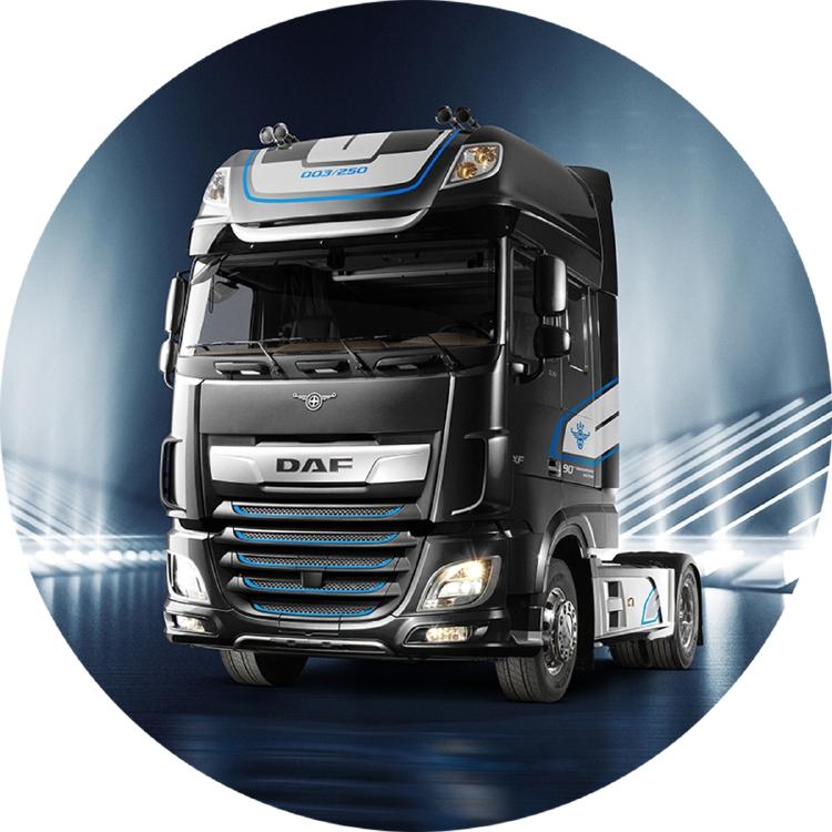 【予約】1-3月以降発売予定Premium Line DAF XF SUPER SPACE CAB MY2017 BLACK トラック トラクタ/建設機械模型 工事車両 WSI 1/50 ミニチュア