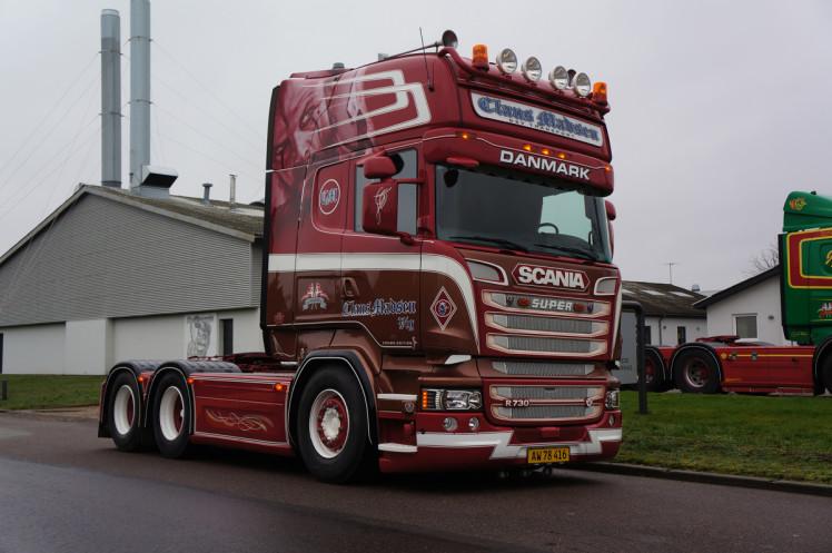 【予約】12月以降発売予定Claus Madsen SCANIA STREAMLINE TOPLINE 6x2 TAG AXLEトラックトラクタ 建設機械模型 工事車両WSI 1/50 ミニチュア