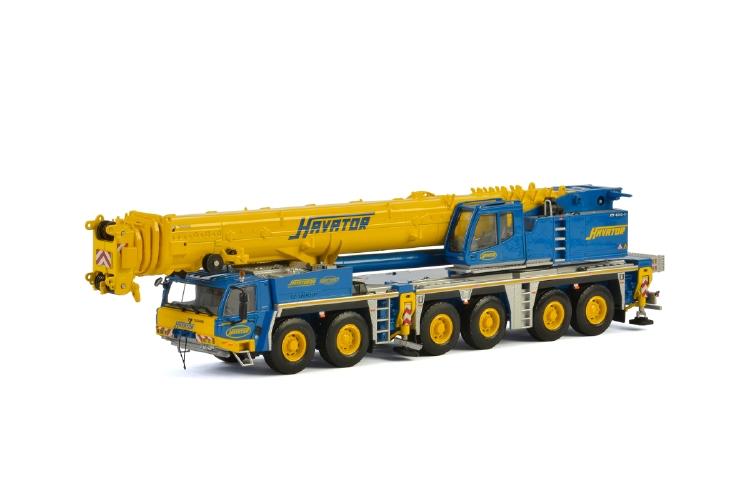 Havator Oy TADANOタダノ ATF 400 モバイルクレーン/建設機械模型 工事車両 WSI 1/50 ミニチュア