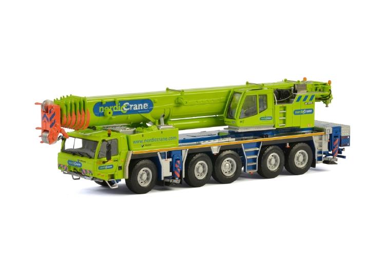 Nordic Crane TADANOタダノ ATF 220G-5モバイルクレーン /建設機械模型 工事車両 WSI 1/50 ミニチュア