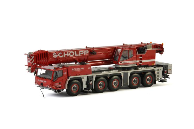 Scholpp Tadanoタダノ Faun ATF220G-5モバイルクレーン 建設機械模型 工事車両 WSI 1/50 ミニチュア
