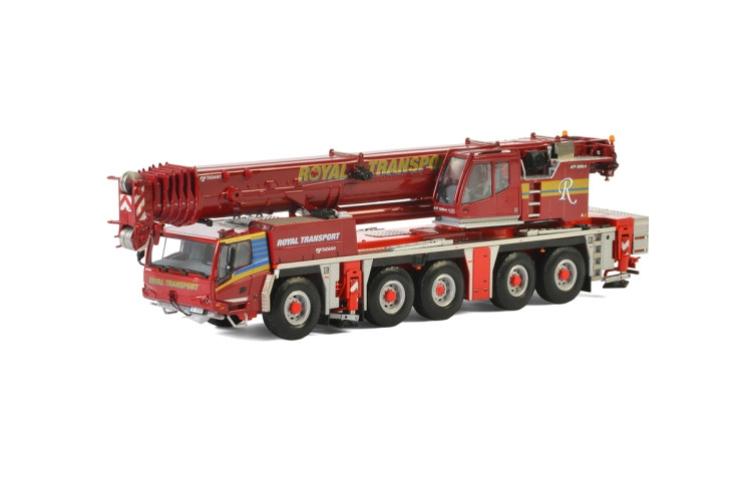 Royal Transport TADANO ATF220G-5 EURO 4モバイルクレーン /建設機械模型 工事車両 WSI 1/50 ミニチュア
