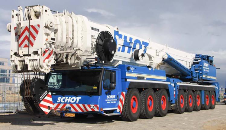 【予約】2019年1-3月以降発売予定Schot LIEBHERRリープヘル LTM 1500モバイルクレーン /建設機械模型 工事車両 WSI 1/50 ミニチュア