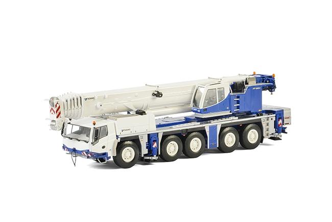 Tadanoタダノ Tadanoタダノ Faun ATF220G-5モバイルクレーン 建設機械模型 工事車両 WSI 1/50 ミニチュア