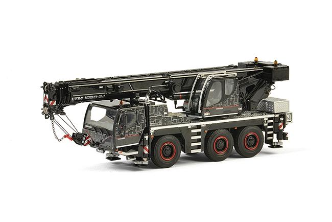 WSI Premium line (Black Edition) Liebherrリープヘル LTM 1050 -3.1モバイルクレーン 建設機械模型 工事車両 WSI 1/50 ミニチュア