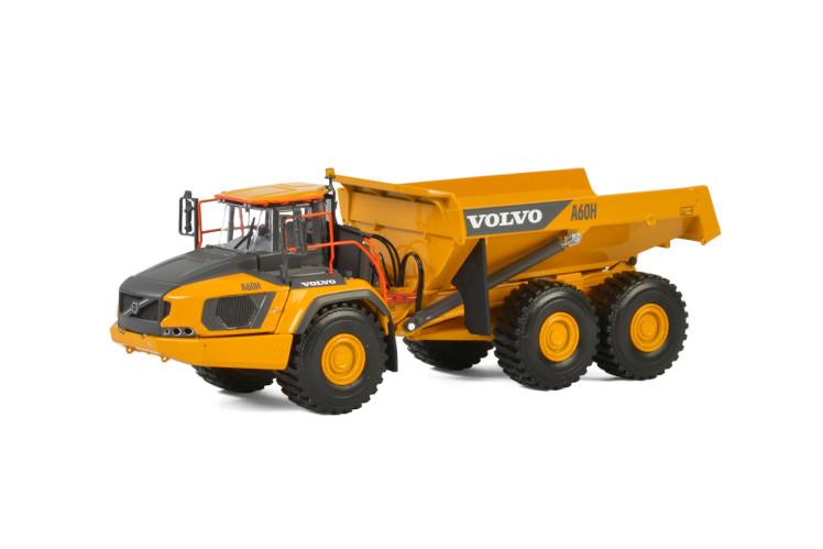 Volvo A60H ダンプトラック /建設機械模型 工事車両WSI 1/50 ミニチュア
