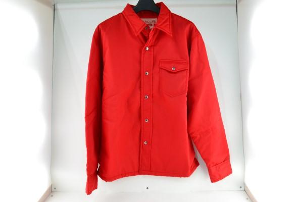 安心の定価販売 中古 Pherrow's フェローズ ナイロンジャケット サイズL 赤 レッド 毎週更新 中古品 02r4497