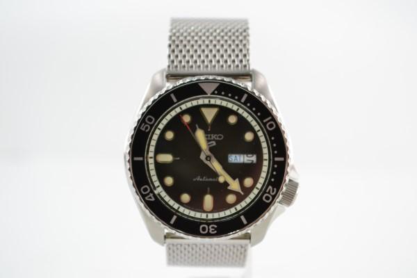 【【中古】SEIKO セイコー 5 SPORTS Automation SBSA017 腕時計 メンズ 流通限定モデル 02r1268 中古品