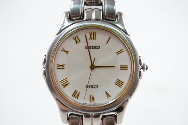 【中古】SEIKO(セイコー)腕時計 5E31-6000 DOLCE メンズ 02r1794 中古品