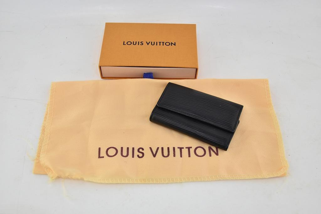 【中古】LOUIS VUITTON/ルイ・ヴィトン ミュルティクレ 6 エピ M63812 キーケース 04r0924