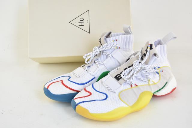 【中古】adidas/アディダス クレイジー ファレルウィリアムス CRAZY BYW X PW EF3500 26.5cm スニーカー 04r1584