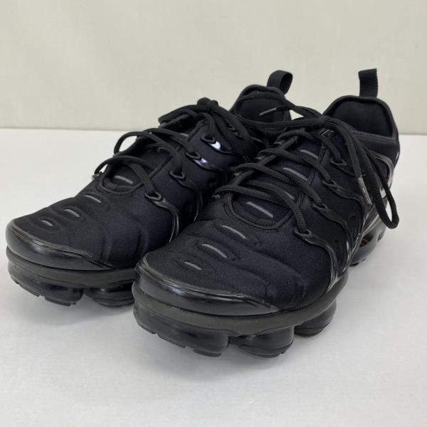 【中古】ナイキ NIKE エア ヴェイパーマックス プラス 8.5サイズ 26.5 cm 924453-004 ブラック メンズ スニーカー 04r1680
