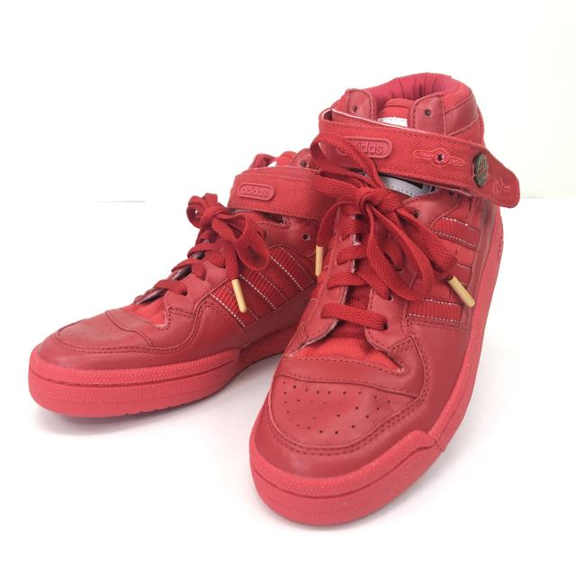 【中古】 adidas アディダス FRM MID フォーラムミッド RED 赤 G16200 26.0cm  04r1776