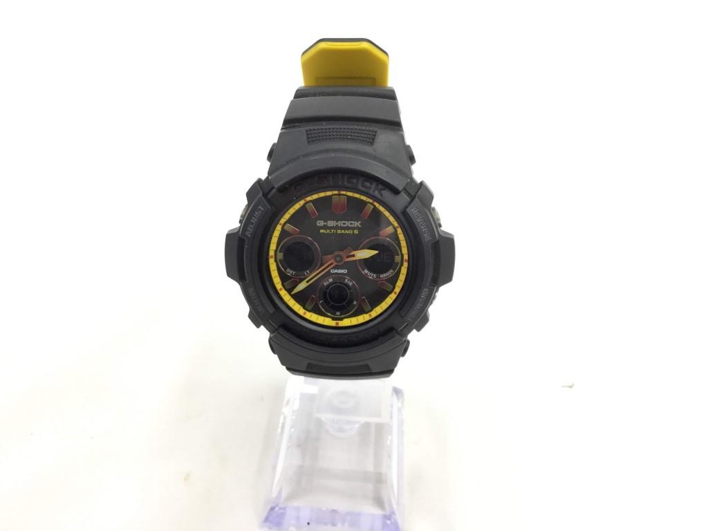 【中古】G-SHOCK AWG-M100SBY ソーラー腕時計 03r0134