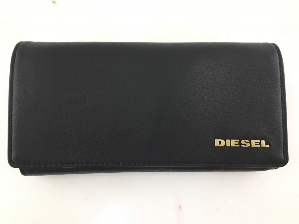 【中古】DIESEL 長財布 フラップボタン 03r0184
