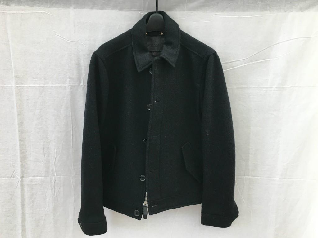【中古】COACH コーチ ウールジャケット 85236 ブラック アイゼンハワージャケット アイクジャケット 03r0799