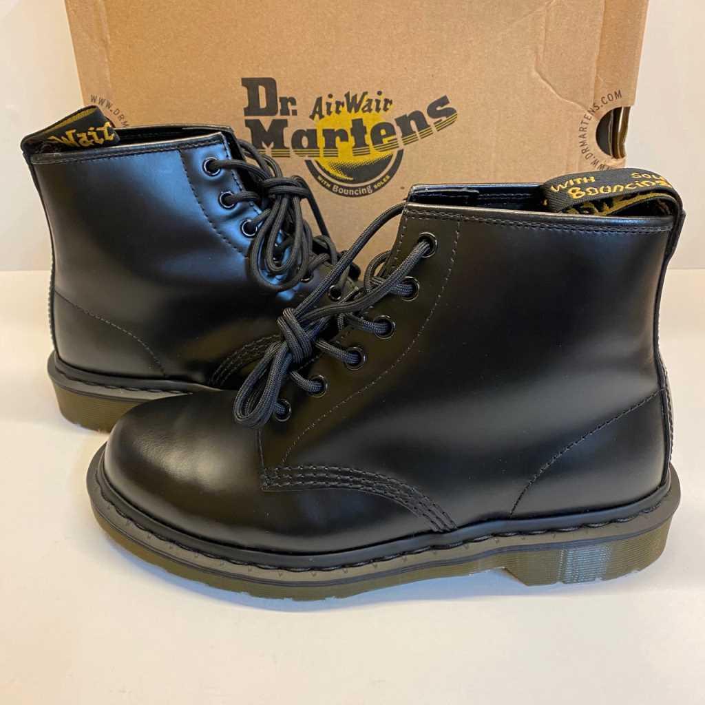 【中古】Dr.martens ドクターマーチン 6HOLE 6ホールブーツ size(UK):7 ブラック 01r0126 中古品