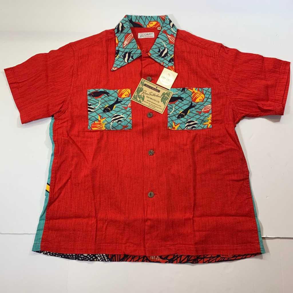 【中古】 SUNSURF サンサーフ アロハシャツ 半袖シャツ Mサイズ 中古品 01r0249