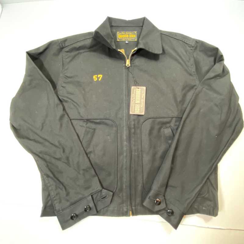 【中古】GROOVIN HIGH グルーヴィンハイ ブラック 黒 ジップジャケット 中古品 01r0271