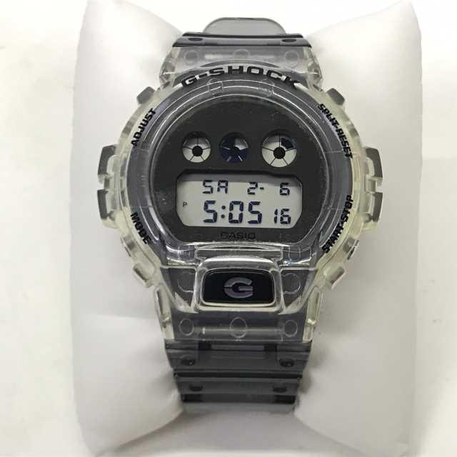 中古 CASIO トレンド カシオ G-SHOCK G-ショック DW-6900SK-1JF クリアー ※ラッピング ※ 01r1660 メンズ 腕時計 中古品 スケルトン