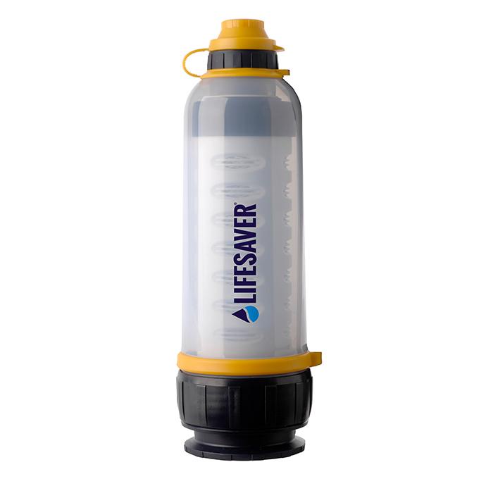 携帯 浄水 器 ボトル LifeSaver Bottle 99.9999% 細菌除去 99.99% ウイルス除去 水筒 アウトドア キャンプ サバイバル 登山 海外滞在 災害 防災グッズ 緊急用 非常用 防災用 携帯用 泥水 濾過 英国陸軍採用