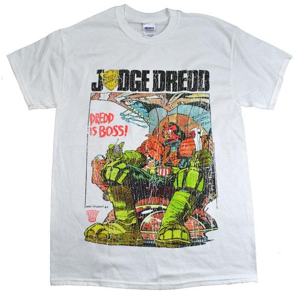 XL Trevco Judge Dredd-Ain T Pretty Adult Tank Top44; Charcoal