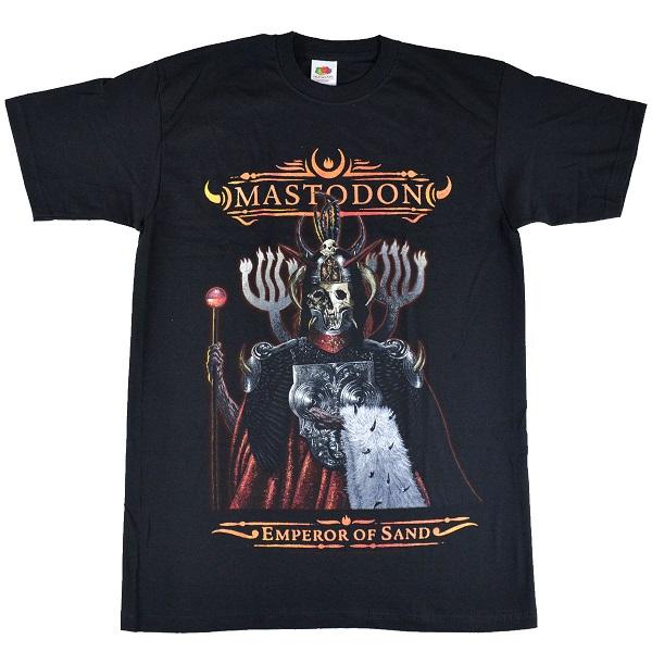 開催中 メール便なら送料無料 マストドンのオフィシャルマーチャンダイズ MASTODON マストドン Emperor Tシャツ Of 新作入荷!! Sand