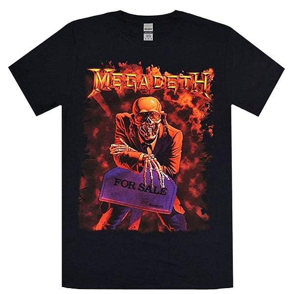 メール便なら送料無料 メガデスのオフィシャルマーチャンダイズ MEGADETH メガデス Tシャツ 新生活 大注目 Peace Sells