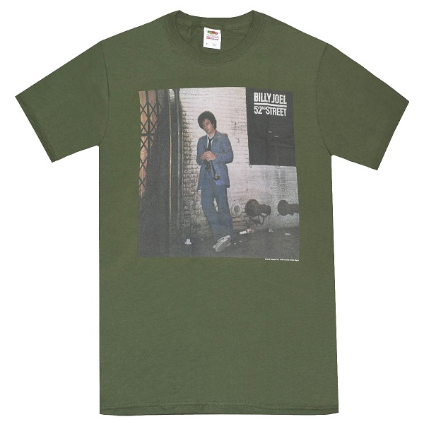 メール便なら送料無料 ビリー ジョエルのオフィシャルマーチャンダイズ BILLY JOEL Street ビリージョエル 価格交渉OK送料無料 Tシャツ 52nd 新品