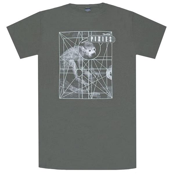 セール特価 爆買い新作 メール便なら送料無料 ピクシーズのオフィシャルマーチャンダイズ PIXIES ピクシーズ Monkey Grid Tシャツ