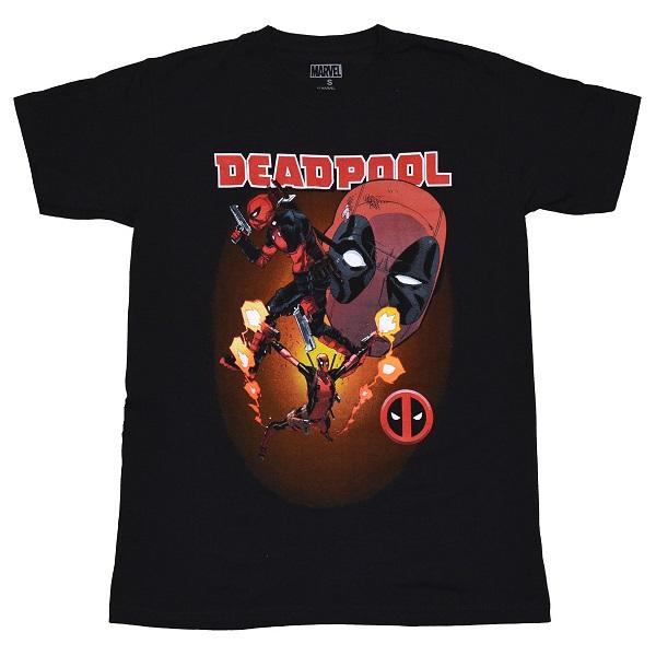 メール便なら送料無料 卓出 デッドプールのオフィシャルマーチャンダイズ DEADPOOL Collage デッドプール タイムセール Tシャツ