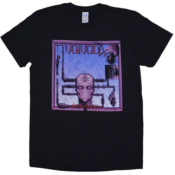 メール便なら送料無料 ヴォイヴォドのオフィシャルマーチャンダイズ VOIVOD Nothingface 業界No.1 ヴォイヴォド Tシャツ 在庫処分