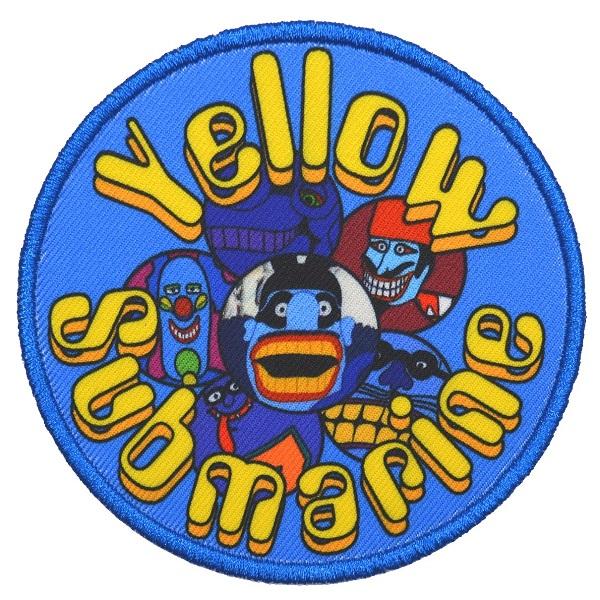 『4年保証』 メール便なら送料無料 ザ 年末年始大決算 ビートルズのオフィシャルマーチャンダイズ THE BEATLES ビートルズ Patch ワッペン Yellow Submarine Baddies