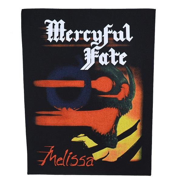 ☆送料無料☆ 当日発送可能 メール便なら送料無料 マーシフル フェイトのオフィシャルマーチャンダイズ MERCYFUL お気に入り マーシフルフェイト FATE Melissa バックパッチ