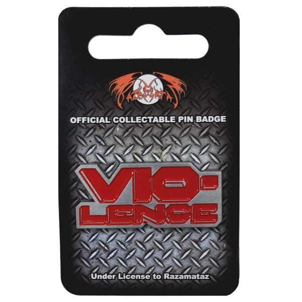 VIO-LENCE CLASSIC RED LOGO OFFICIAL LICENSED SEW ON PATCH THRASH METAL BAND NEW