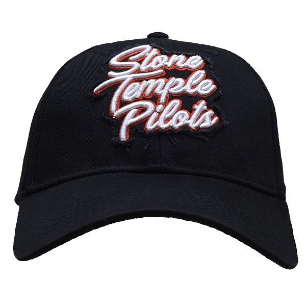 ストーン テンプル パイロッツのオフィシャルマーチャンダイズ STONE ラッピング無料 TEMPLE ストーンテンプルパイロッツ Logo スナップバックキャップ Scroll PILOTS ハイクオリティ
