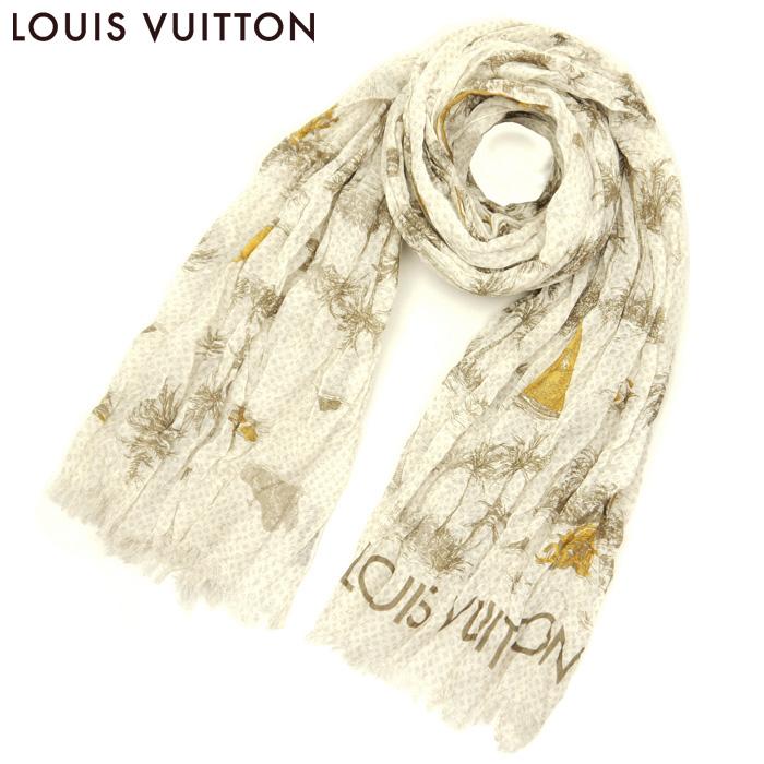 LOUIS VUITTON(ルイ・ヴィトン) LV エトール・トアル ドゥ ルイ メンズ ストール MP0872 イエロー(lv-7-16417)