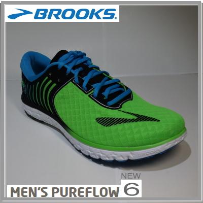 BROOKS  ブルックスPURE FLOW 6 ピュアフロー6 メンズ 356