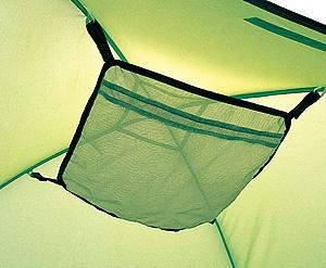 テント内上部に便利な小物置き ネコポス可 予約販売品 エスパースハンモックネット4~5人用 日本正規代理店品