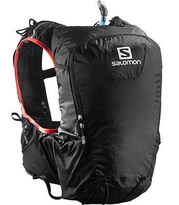 【送料無料!】サロモン・SKIN PRO 15 SETスキンプロ15 セットトレイルランニング用ブラック