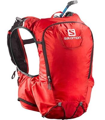 【送料無料!】サロモン・SKIN PRO 15 SETスキンプロ15 セットトレイルランニング用ブライトレッド