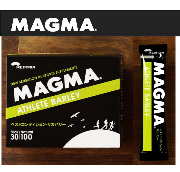 活性酸素と戦いリカバリーへ導く自然派サプリメント 送料無料 MAGMA ATHLETE マグマ アスリートバリー30スティック入り 新作販売 BARLEY 蔵