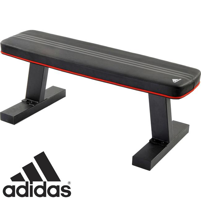 【代金引換不可◆送料無料】adidas(アディダス)フラットベンチ (トレーニングベンチ)ADBE-10232