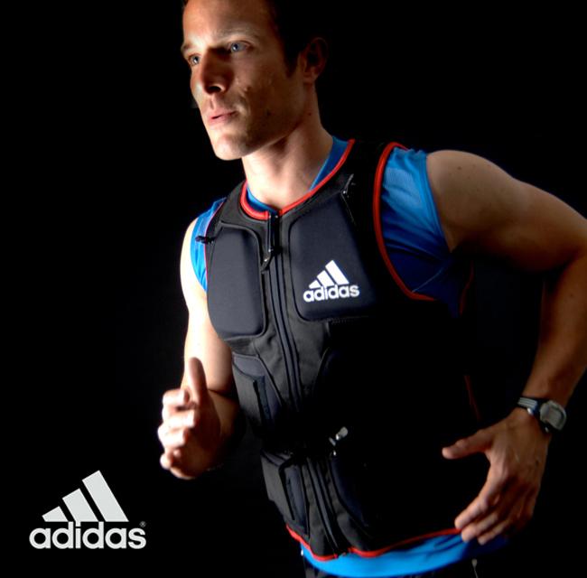 【あす楽★送料無料★トレパラ価格】adidas(アディダス)フルボディー ウエイトベストADSP-10701(ウエイトジャケット)
