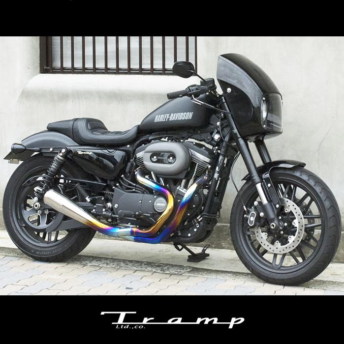 TRAMP CYCLE トランプサイクル S/C マッドマスクキット XL1200CX ロードスター用 SCS-053 送料無料