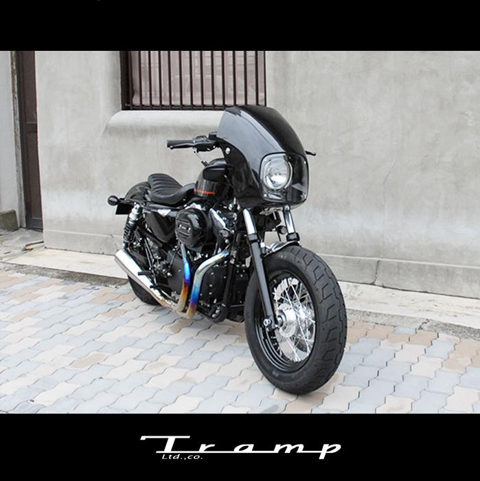 TRAMP CYCLE トランプサイクル S/C マッドマスクキット XL1200Xモデル ~15年用 SCS-024 送料無料
