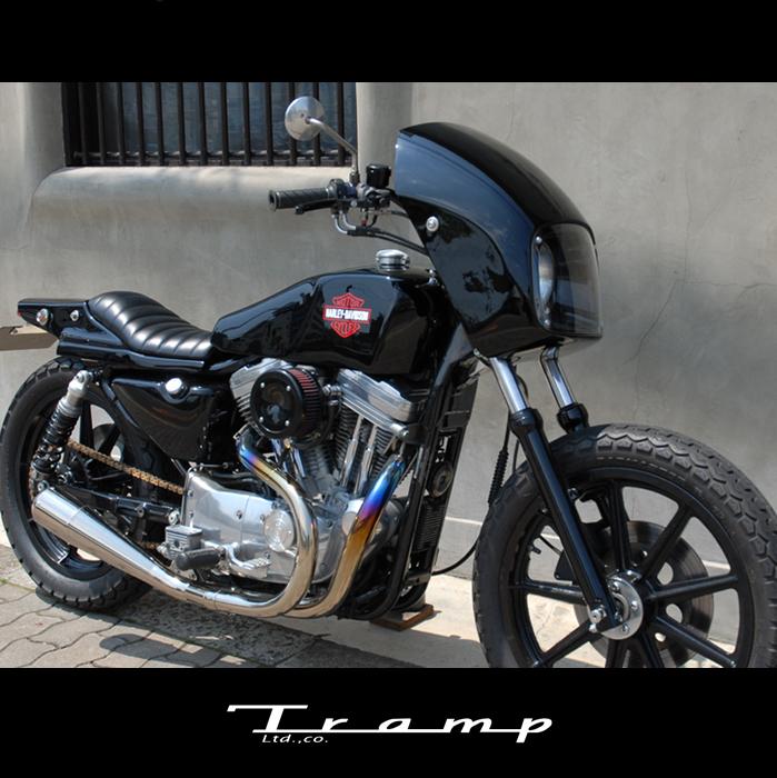 TRAMP CYCLE トランプサイクル S/C マッドマスクキット DYNA ダイナ ~05用 SCD-021 送料無料
