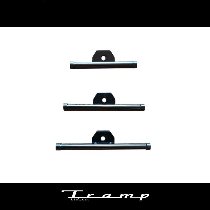 TRAMP CYCLE トランプサイクル / フロントターンシグナルステー ダイナ用 Size:ステー幅146mm、177mm、205mm ハーレーダビッドソン 社外品HARLEY DAVIDSON TOT-061
