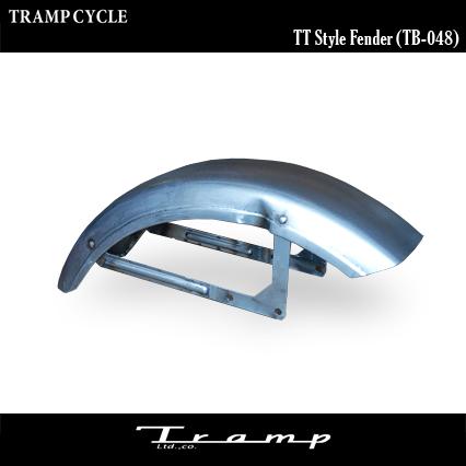 TRAMP CYCLE トランプサイクル / TT Style Fender グロスブラック【TB-048GB】スポーツスター、ダイナモデル 39φフォーク/ナロートリプル用 / ハーレーダビッドソン 社外品 HARLEY DAVIDSON 送料無料